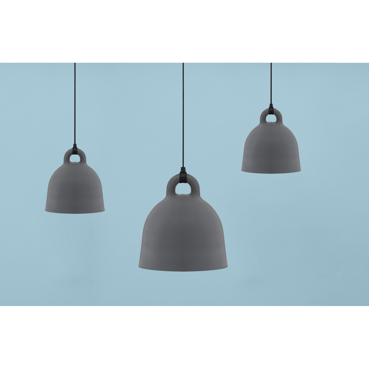 normann copenhagen bell lampe str l i gr k b her. Black Bedroom Furniture Sets. Home Design Ideas