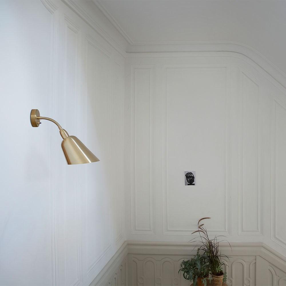 V u00e6glampe Bellevue i hvid fra Arne Jacobsen Kob her