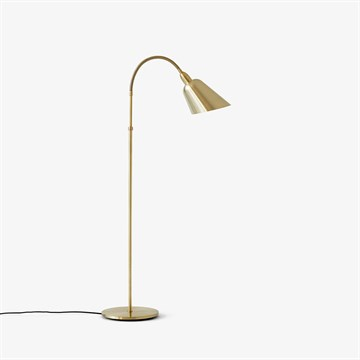 Arne Jacobsen AJ7 Bellevue gulvlampe Messing