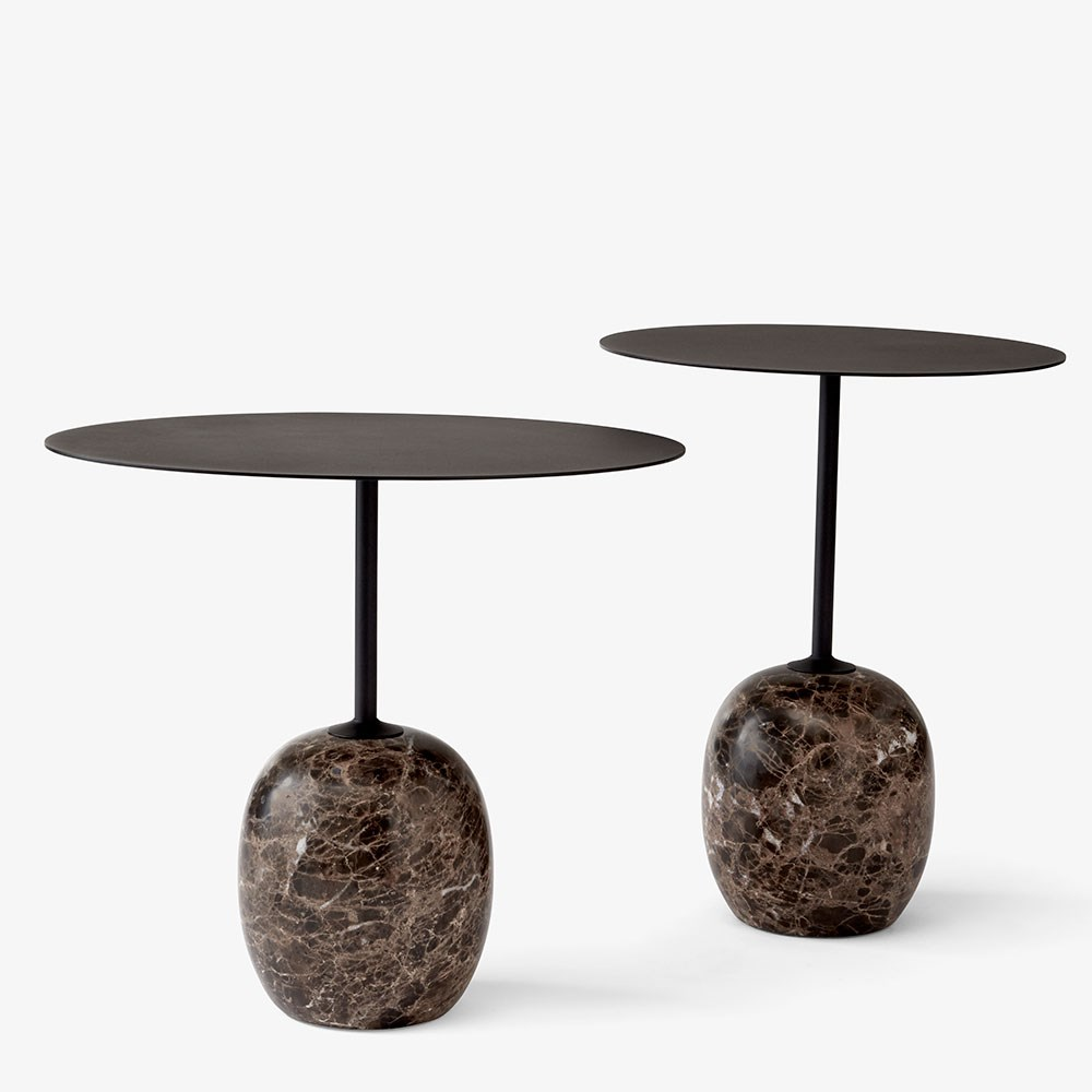 Unike Lato Sofabord og Sidebord i marmor fra AndTradition DS-02