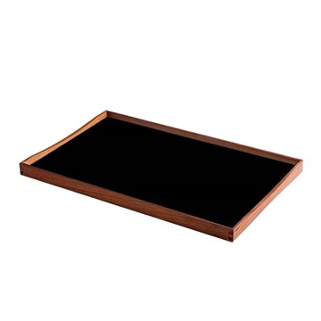 Architectmade Finn Juhl Bakke Turning Tray 2 Rød/Sort