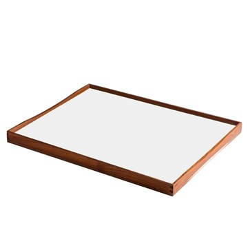 Architectmade Finn Juhl Bakke Turning Tray 2 Hvid/Sort