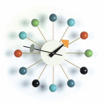 Vitra Ball Clock Ur Multi Farvet