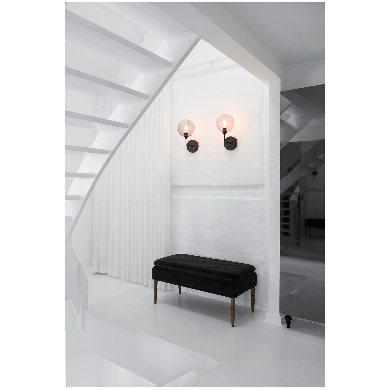 Design By Us Væglampe med sort ophæng - Køb her