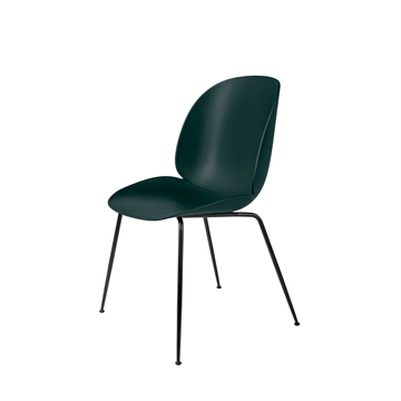 Gubi Beetle spisestol sort - dark green