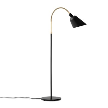 Arne Jacobsen AJ7 Bellevue Gulvlampe - Sort/Messing