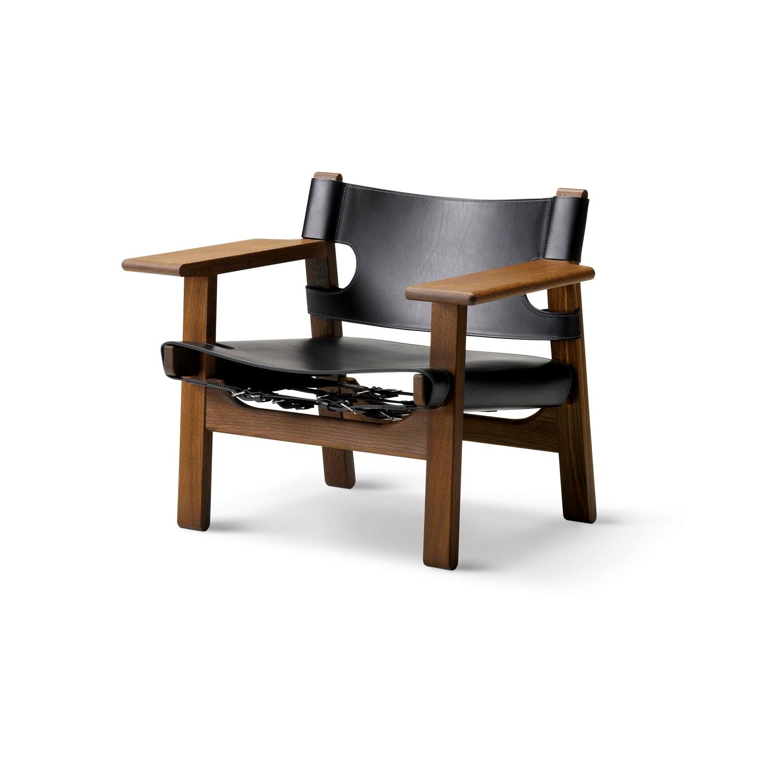 stol børge mogensen Børge Mogensen Den Spanske Stol Røget Eg stol børge mogensen