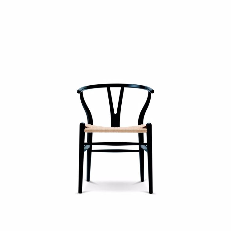 Wegner y stol sort brugt