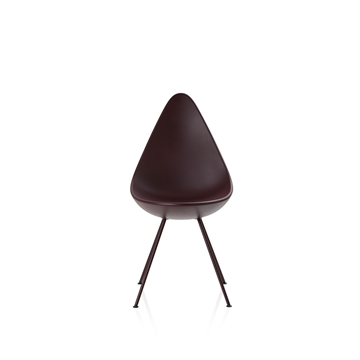 Arne Jacobsen Dråben Burgundy red