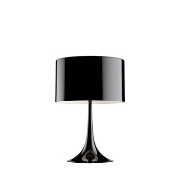 Flos Spun Light T1 bordlampe i sort