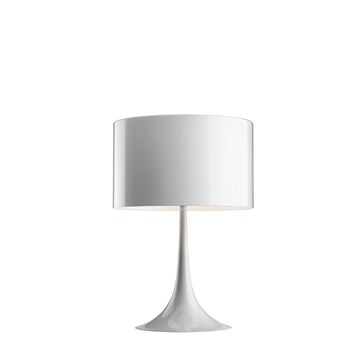 Flos Spun Light T1 bordlampe i hvid