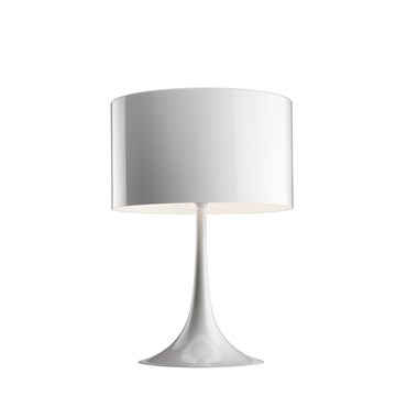 Flos Spun Light T2 bordlampe i hvid