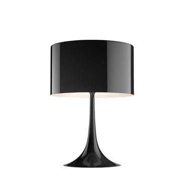 Flos Spun Light T2 bordlampe i sort