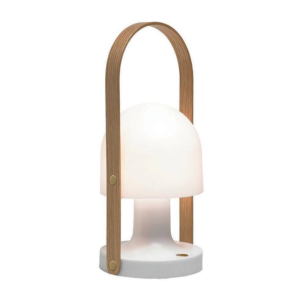 Sensationelle Follow Me Bordlampe - Køb genopladelig lampe - Fri Fragt LM16
