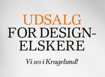 Udsalg for design elskere
