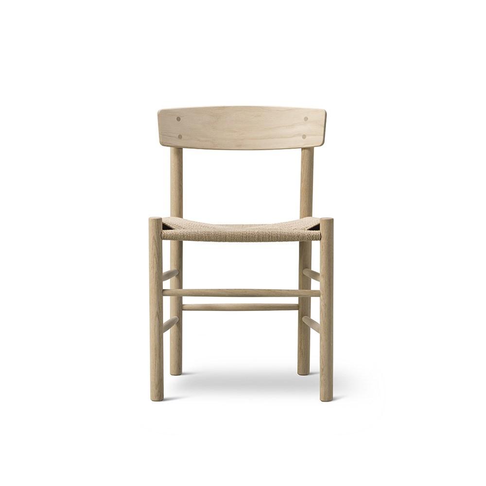 Børge Mogensen J39 spisebordsstol Sæbebehandlet Eg mNaturflet