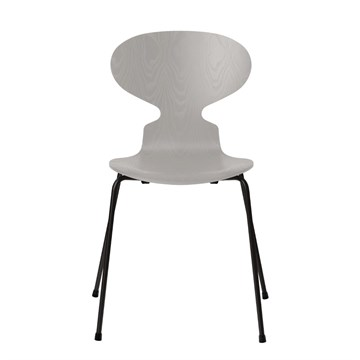 Fritz Hansen 3101 Myren Farvet Ask Sort Stel Nine Grey