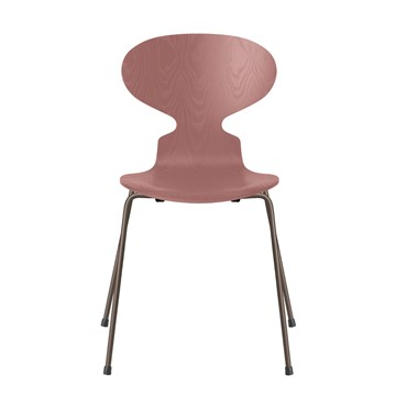 Fritz Hansen 3101 Myren Farvet Ask Brown Bronze Stel Wild Rose 635