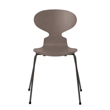 Fritz Hansen 3101 Myren Farvet Ask Warm Graphite Deep Clay