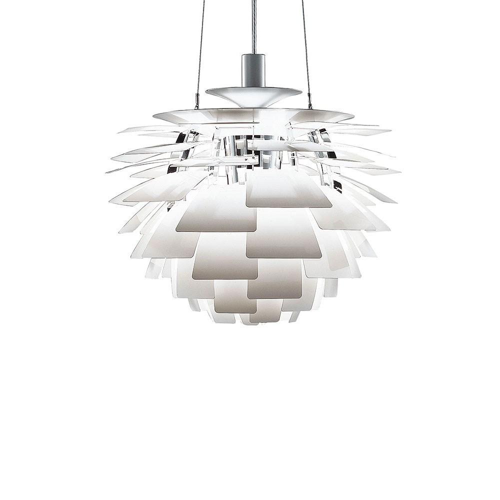 ph kogle artichoke i hvidlakeret st l k b lampen. Black Bedroom Furniture Sets. Home Design Ideas