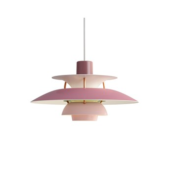 Louis Poulsen PH 5 Mini Pendel - Rosa