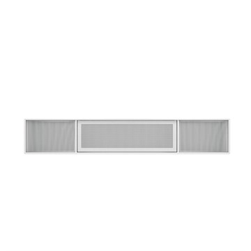 Montana TV sound bord Modul VI17 i farven new white