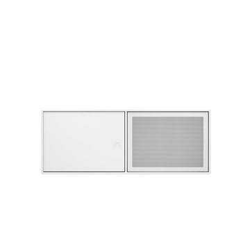Montana TV bord Modul SL12 small i farven new white