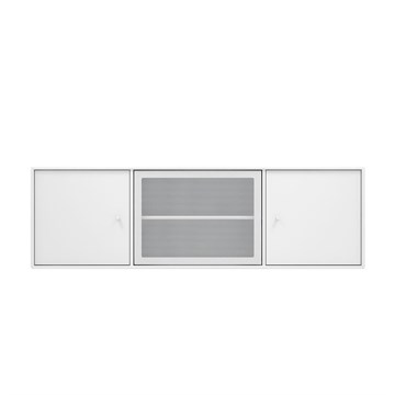 Montana TV sound bord Modul SJ13 i farven new white