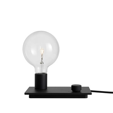 Muuto Control Table Bordlampe Black
