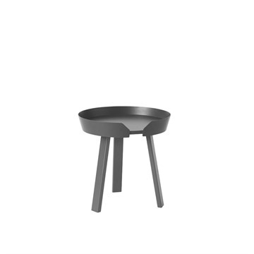 Muuto Around bord Small Anthracite