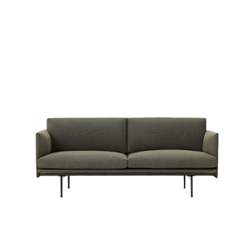 Muuto Outline 2 Personers Sofa