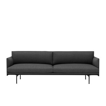 Muuto Outline 3 Personers Sofa