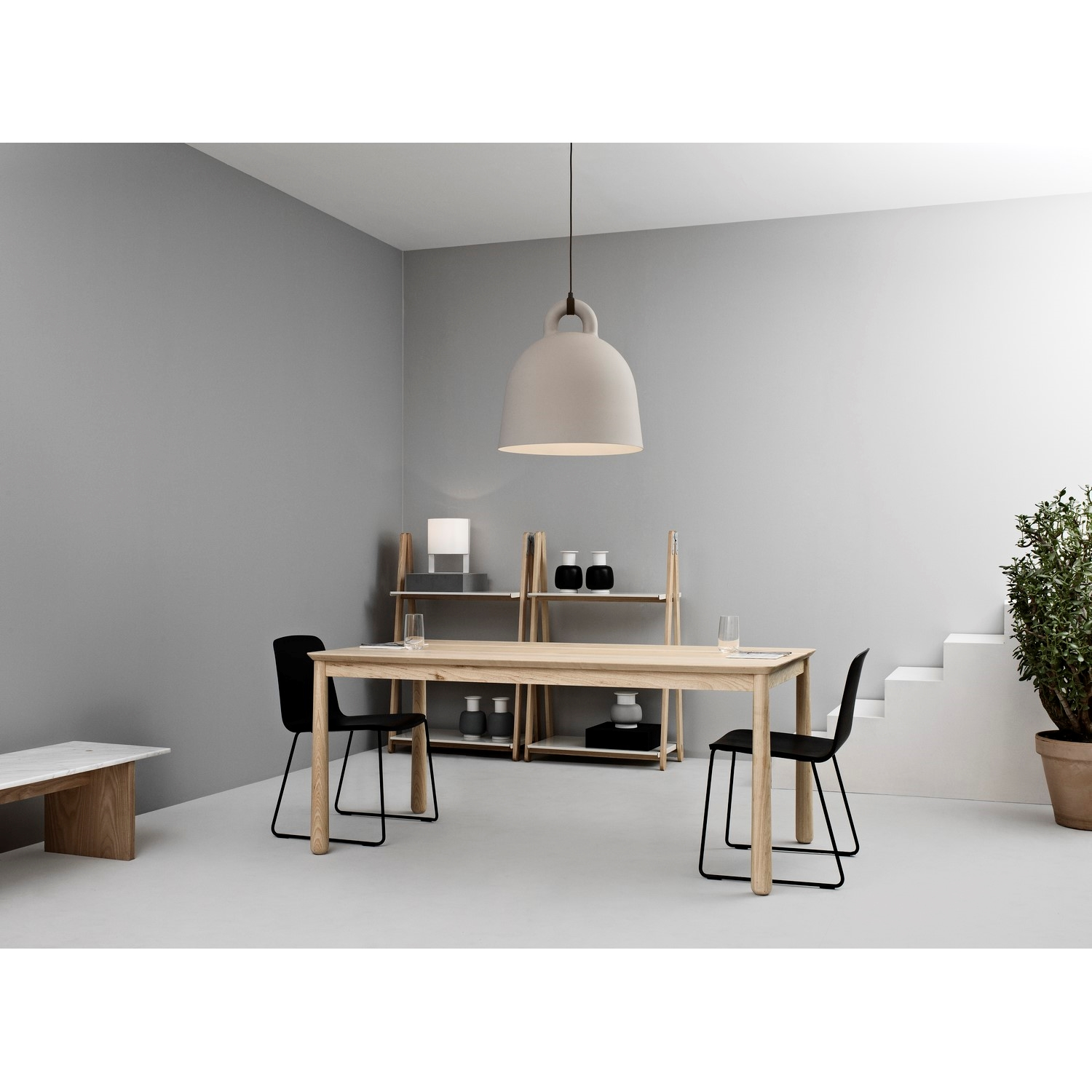 normann copenhagen bell lampe str m i sand k b her. Black Bedroom Furniture Sets. Home Design Ideas