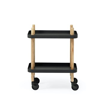 Normann Copenhagen Block Bord - Sort