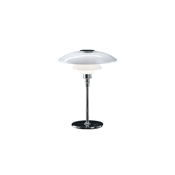 PH 4 1/2 - 3 1/2  Glas Bordlampe