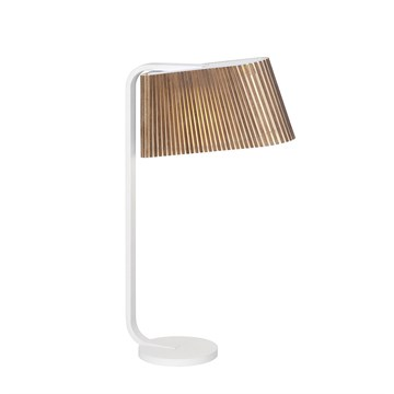 Secto Design Bordlampe Owalo 7020 valnød