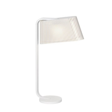Secto Design Bordlampe Owalo 7020 hvid