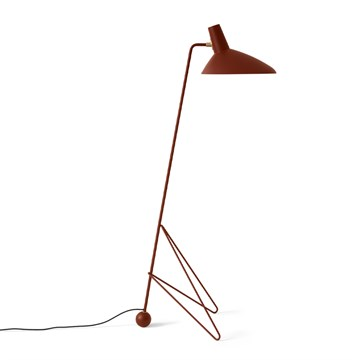 Andtradition Tripod HM8 Gulvlampe - Maroon