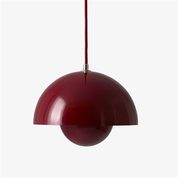 Verner Panton Flowerpot VP1 Deep Red
