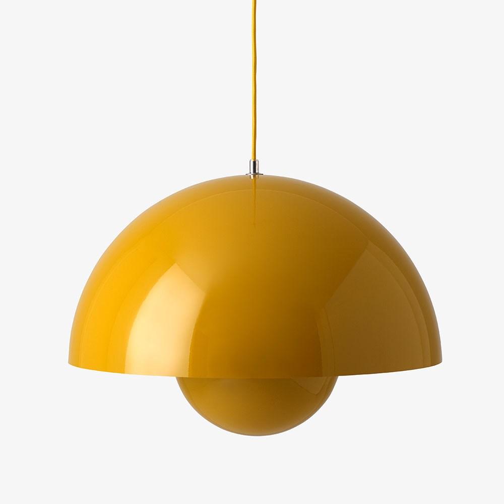 flowerpot lampe vp2 fra verner panton tilbud k b her. Black Bedroom Furniture Sets. Home Design Ideas
