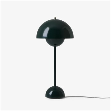 Verner Panton Flowerpot VP3 Bordlampe Dark Green