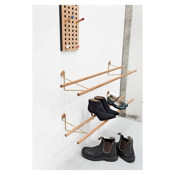 We Do Wood Shoe Rack skoreol