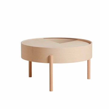 Woud Arc Side table i ask Ø66