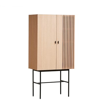 Woud Array Highboard i hvidolieret eg