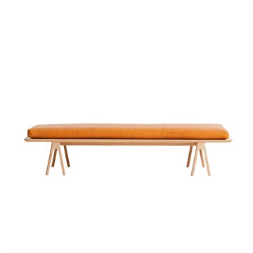 Woud Level Daybed i Eg/cognac