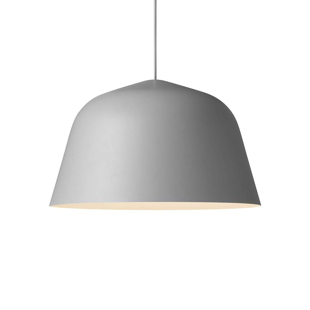 grå lampe