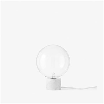 Andtradition marble light SV bordlampe i hvid marmor