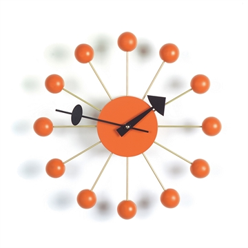 Vitra Ball Clock Ur Orange