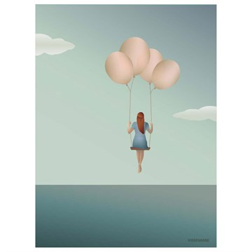 Vissevasse Ballon Dream - 50x70 plakat