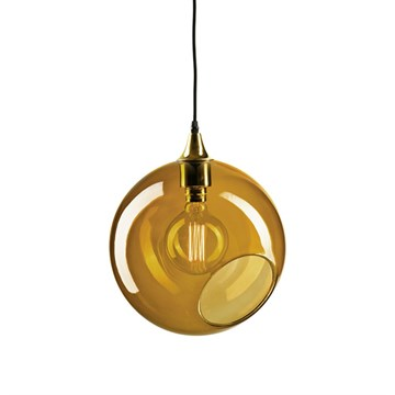 Ballroom lampe XL amber - Design By Us